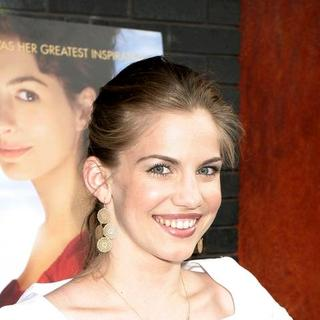 Anna Chlumsky in Becoming Jane - New York Movie Premiere - Arrivals
