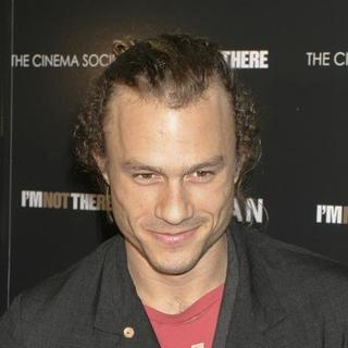 "Heath Ledger in ""I'm Not There"" New York Premiere Presented by The Cinema Society, Hogan and L'Oreal - Arrivals - AGM-007522"
