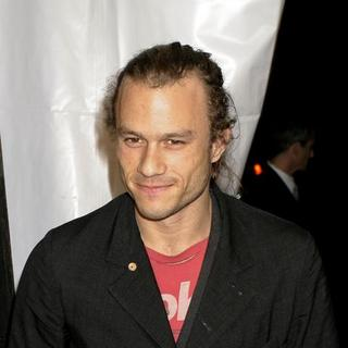 "Heath Ledger in ""I'm Not There"" New York Premiere Presented by The Cinema Society, Hogan and L'Oreal - Arrivals - AGM-007524"