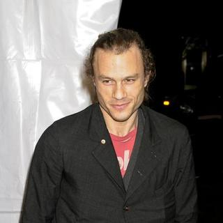"Heath Ledger in ""I'm Not There"" New York Premiere Presented by The Cinema Society, Hogan and L'Oreal - Arrivals - AGM-007526"