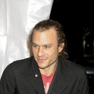 "Heath Ledger in ""I'm Not There"" New York Premiere Presented by The Cinema Society, Hogan and L'Oreal - Arrivals - AGM-007531"