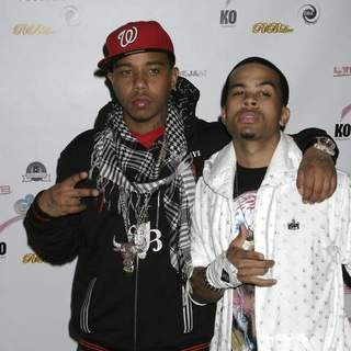 Casely, Yung Berg in The R&B Live Presents Ray J in New York City