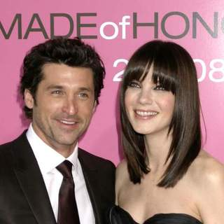 "Patrick Dempsey, Michelle Monaghan in ""Made of Honor"" New York City Premiere"