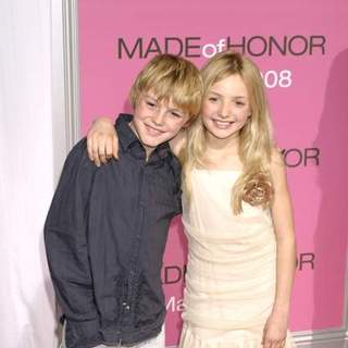 "Spencer List, Peyton List in ""Made of Honor"" New York City Premiere"