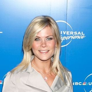 Alison Sweeney in The 2008 NBC Universal Experience Upfronts - Arrivals