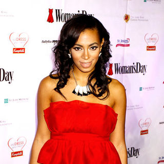 Solange Knowles in 6th Annual Woman's Day Red Dress Awards - Arrivals