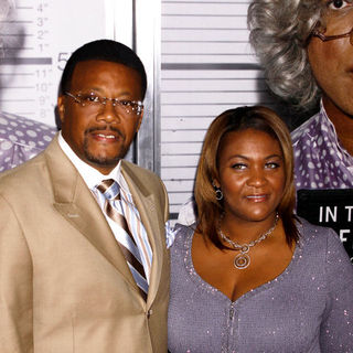 "Greg Mathis, Linda Mathis in ""Madea Goes to Jail"" New York Premiere - Arrivals"