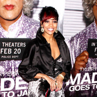 "Monica in ""Madea Goes to Jail"" New York Premiere - Arrivals"