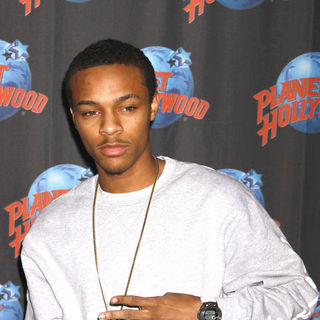 "Bow Wow in Bow Wow ""New Jack City II"" CD Promotion and Handprint Ceremony at Planet Hollywood Times Square"