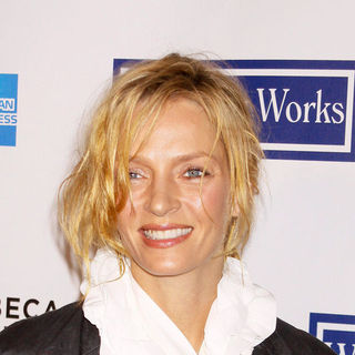 "Uma Thurman in 8th Annual Tribeca Film Festival - ""Whatever Works"" Premiere - Arrivals - AGM-013073"
