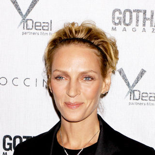"Uma Thurman in ""Motherhood"" New York City Screening Hosted by Gotham Magazine - Arrivals"