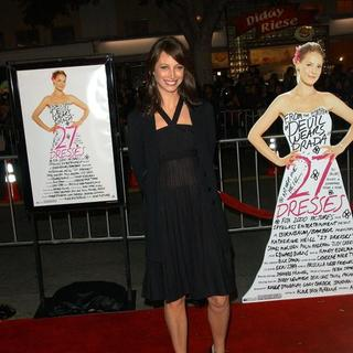 "Christy Turlington in ""27 Dresses"" Los Angeles Premiere - Arrivals"