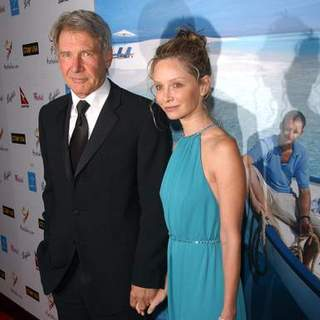 Calista Flockhart in G'Day USA Australia.com Black Tie Gala - Arrivals - ALO-007554