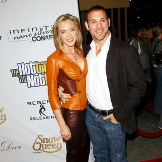 "Kristanna Loken, Noah Danby in ""The Hottie and The Nottie"" Los Angeles Premiere - Arrivals"