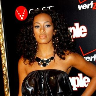 Solange Knowles in Verizon and People Honor Timbaland