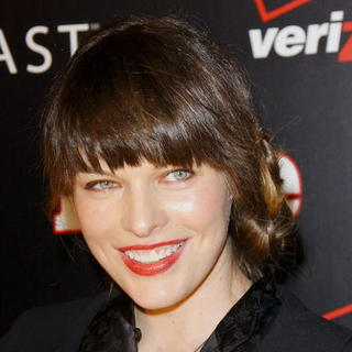 Milla Jovovich in Verizon and People Honor Timbaland