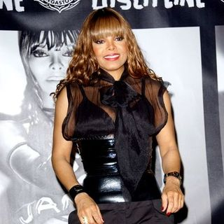 Janet Jackson - Singer Janet Jackson Signs copies of her new CD