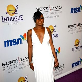 Fantasia Barrino in 2008 Clive Davis Pre-GRAMMY Party - Arrivals