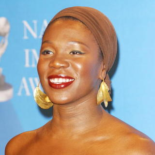 India.Arie in 39th NAACP Image Awards - Press Room - ALO-010742
