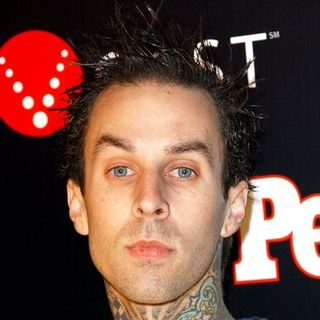 Travis Barker in Verizon and People Honor Timbaland