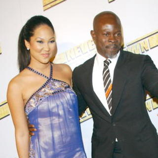 "Kimora Lee Simmons, Djimon Hounsou in ""Never Back Down"" Hollywood Premiere - Arrivals"