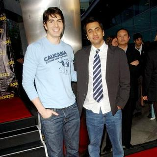 "Kal Penn, Brandon Routh in ""Harold & Kumar Escape From Guantanamo Bay"" Los Angeles Premiere - Arrivals"