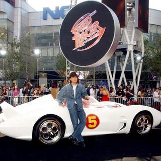 "Emile Hirsch in ""Speed Racer"" World Premiere - Arrivals"