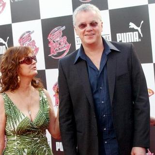 "Susan Sarandon, Tim Robbins in ""Speed Racer"" World Premiere - Arrivals"