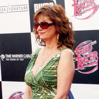 "Susan Sarandon in ""Speed Racer"" World Premiere - Arrivals"