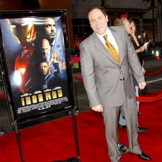"Jon Favreau in ""Iron Man"" Los Angeles Premiere - Arrivals"