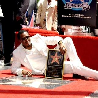 P. Diddy - Sean Diddy Combs Honored With A Star On The Hollywood Walk Of Fame