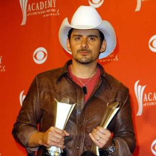 Brad Paisley in 43rd Academy Of Country Music Awards - Arrivals