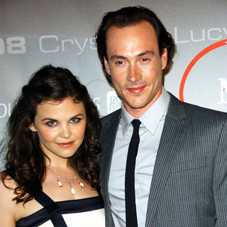 Chris Klein, Ginnifer Goodwin in 2008 Crystal + Lucy Awards - Arrivals