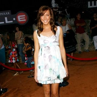 "Katie Cassidy in ""WALL.E"" World Premiere - Arrivals"