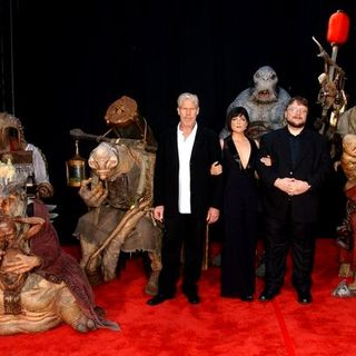 "Selma Blair, Ron Perlman, Guillermo del Toro in ""Hellboy 2: The Golden Army"" World Premiere - Arrivals"