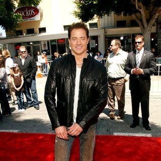 "Brendan Fraser in ""Journey To The Center Of The Earth"" World Premiere - Arrivals - ALO-018757"