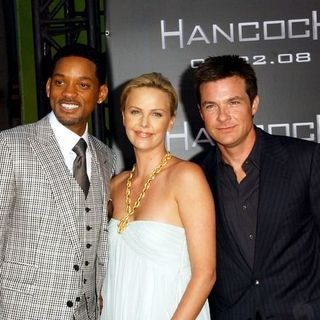"Charlize Theron, Will Smith, Jason Bateman in ""Hancock"" Premiere - Arrivals"