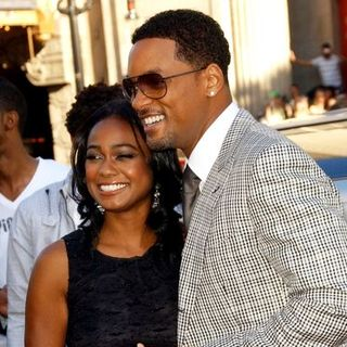 "Will Smith, Tatyana Ali in ""Hancock"" Premiere - Arrivals"