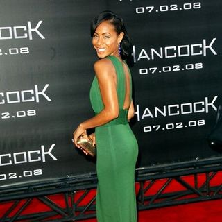 "Jada Pinkett Smith in ""Hancock"" Premiere - Arrivals"