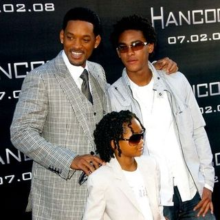 "Will Smith, Trey Smith, Jaden Smith in ""Hancock"" Premiere - Arrivals"