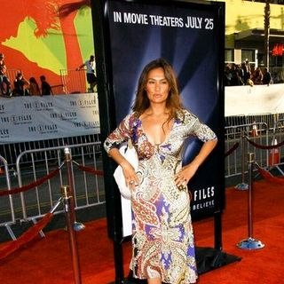 "Tia Carrere in ""The X-Files - I Want to Believe"" Hollywood Premiere - Arrivals"