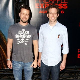 "Rob McElhenney, Glenn Howerton in ""Pineapple Express"" Los Angeles Premiere - Arrivals"