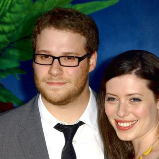 "Seth Rogen, Lauren Miller in ""Pineapple Express"" Los Angeles Premiere - Arrivals"