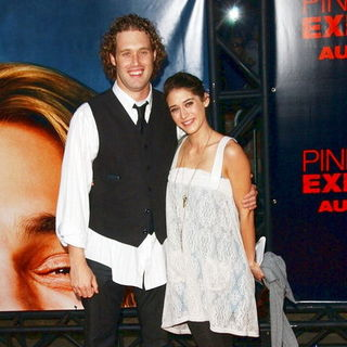 "Lizzy Caplan, T.J. Miller in ""Pineapple Express"" Los Angeles Premiere - Arrivals"