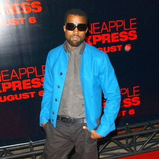 "Kanye West in ""Pineapple Express"" Los Angeles Premiere - Arrivals"