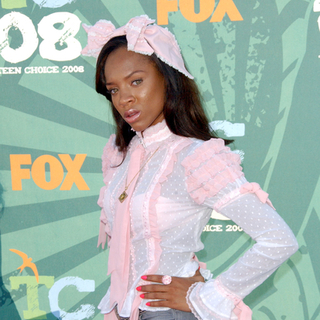 Lil Mama in 2008 Teen Choice Awards - Arrivals