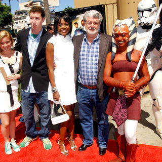 Star Wars: The Clone Wars U.S. Premiere - Arrivals - ALO-023404