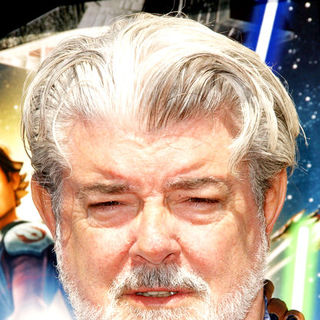George Lucas in Star Wars: The Clone Wars U.S. Premiere - Arrivals