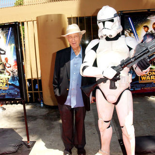 Ian Abercrombie in Star Wars: The Clone Wars U.S. Premiere - Arrivals