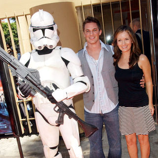 Matt Lanter, Catherine Taber in Star Wars: The Clone Wars U.S. Premiere - Arrivals